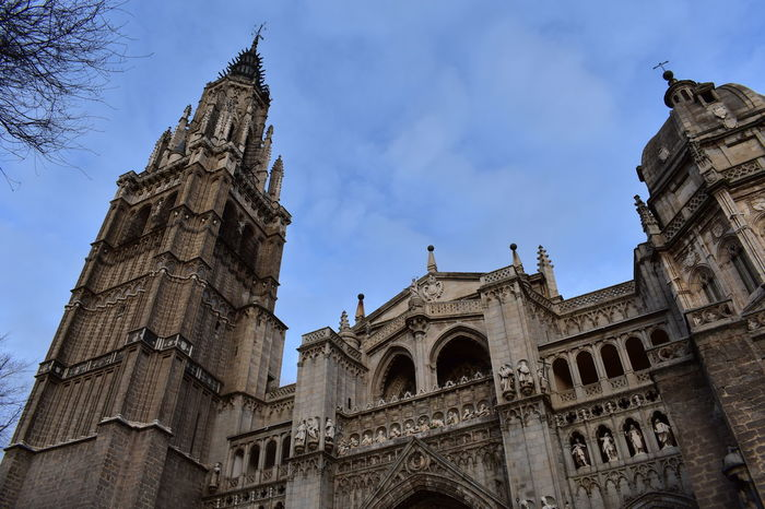 No Filter No Filter, No Edit, Just Photography Toledo Spain Architecture Travel Destinations History Religion Low Angle View Gothic Style Built Structure