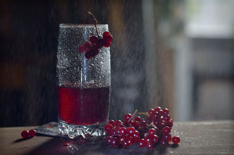 Glass Red Rain