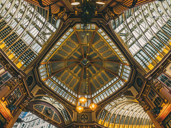 🏬 Architecture Ceiling Leadenhall Market London United Kingdom Building Built Structure Uk The Architect - 2018 EyeEm Awards