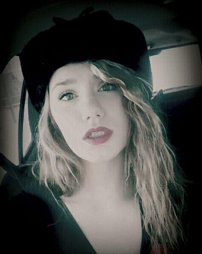 Self Portrait Car Ride  Lipstick Russian