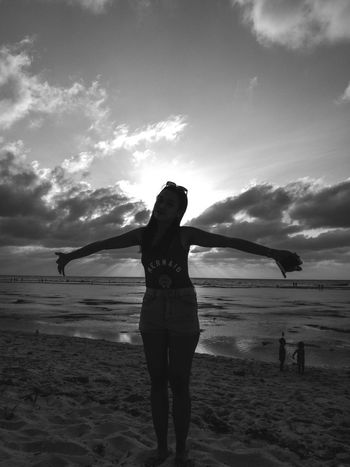 Angel Wings Silhouette Silhouette Photography Silhouette And Sky Beach Sand Sea Sky
