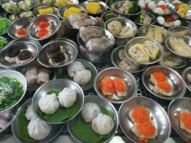 Dimsum Dim Sum Time Freshness Food High Angle View Ready-to-eat Table