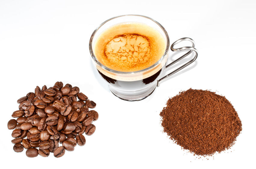 EyeEmNewHere The Week On EyeEm Breakfast Brown Cappuccino Close-up Coffee - Drink Coffee Bean Coffee Cup Drink Espresso Food Food And Drink Freshness Froth Art Frothy Drink Ground Coffee Latte Mocha No People Refreshment Scented Studio Shot White Background Mix Yourself A Good Time
