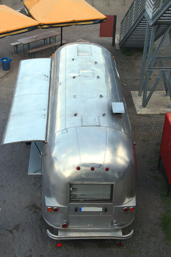 Ancient Beer Wagon Ancient Beer Cart Beer Wagon Break Fast Food Gastronomy High Angle View Land Vehicle Market Stall Metal No People Old Outdoor Life Outdoors Sales Trailer Shiny Silver  Silver - Metal Snack Snack Time! Summer Airstream Trailer Airstream Trailer vintage