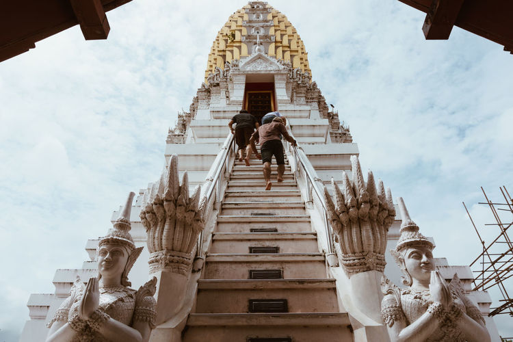 Architecture Built Structure Building Exterior Sky Religion Low Angle View Belief Spirituality Place Of Worship Staircase Day Building Representation Travel Destinations Art And Craft The Past Nature History Outdoors