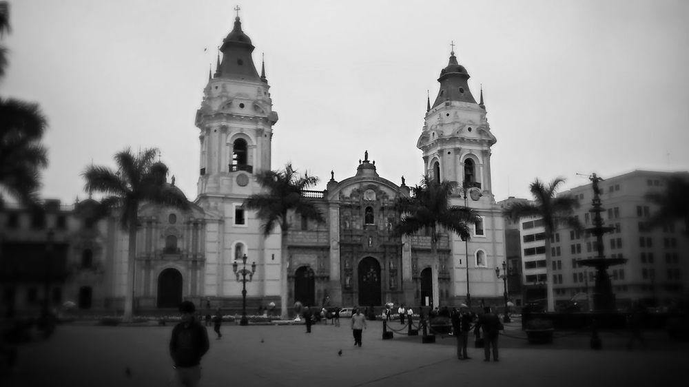 Catedral de Lima Lima-Perú Hello World