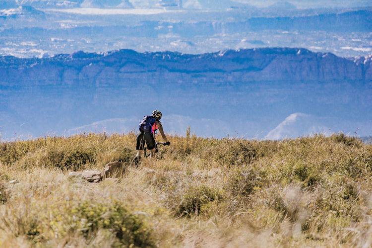 Adventure Alpine Bike Biker Biking Female Grass Healthy Lifestyle Landscape Leisure Activity Lifestyles Mountain Mountain Bike Mountain Biking Mountain Range Nature One Person Outdoors Real People Remote Ride Rider Riding Rugged Woman The Great Outdoors - 2017 EyeEm Awards