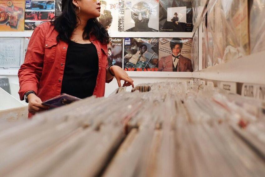 Music corner Music Store Vinyl Records Musicstore Vintage Bandung INDONESIA