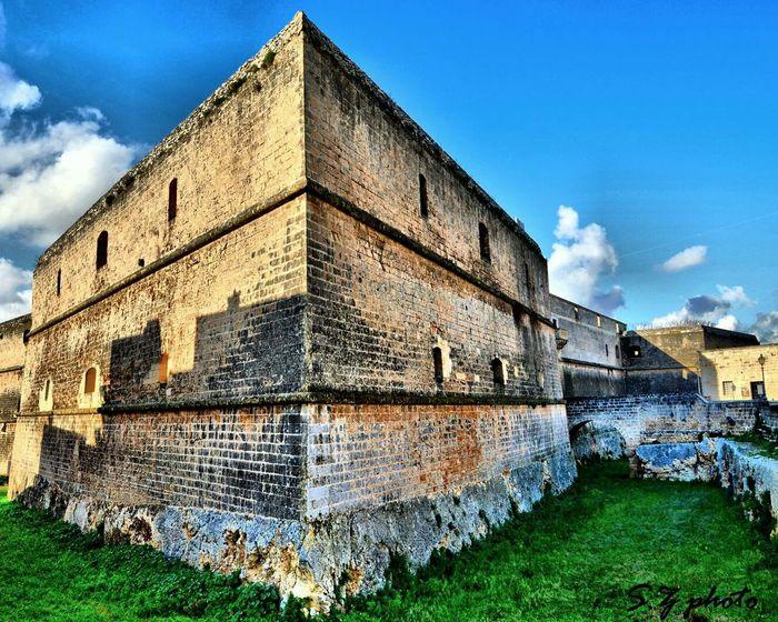 Castelloangioino HDR First Eyeem Photo Cielo Blusky Italy
