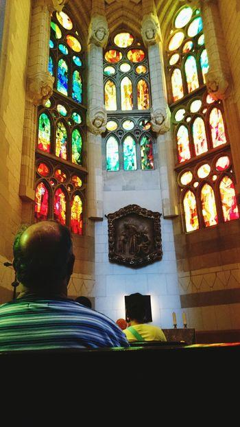 Sagrada Familia Gaudi Check This Out Taking Photos Barcelona Having A Break