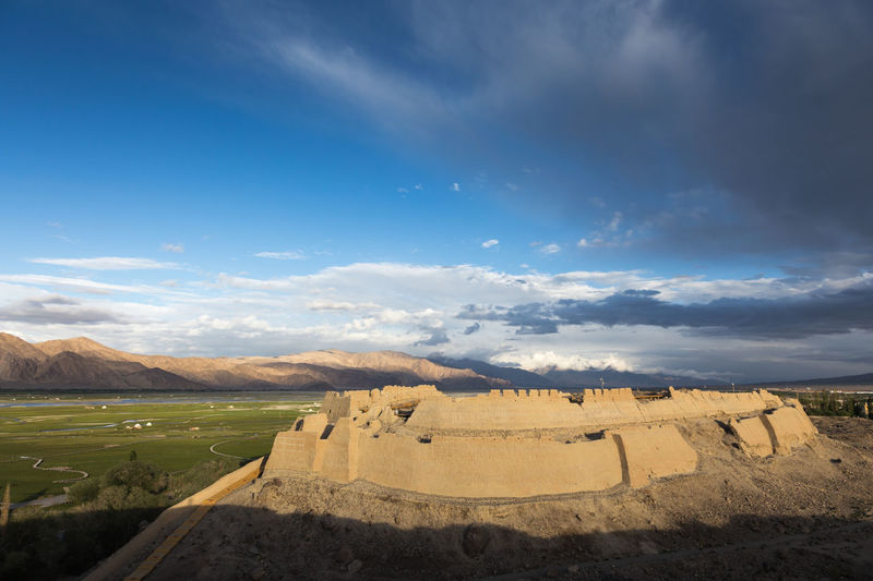 2500 year old stone fort,Tashkurgan, North west China Beauty In Nature Day Landscape Nature No People Outdoors Sky Stone Fort Travel