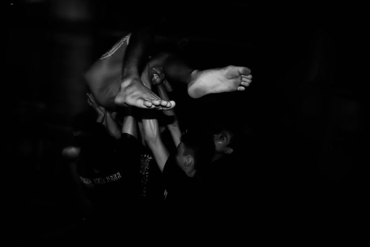in the pit Black And White Close-up Friendship Have Fun Human Foot Human Hand Indoors  Moshpit Night People Punk Real People Togetherness Young Adult Black And White Friday Audience Crowd Men Lifestyles Leisure Activity Gig Performance Band