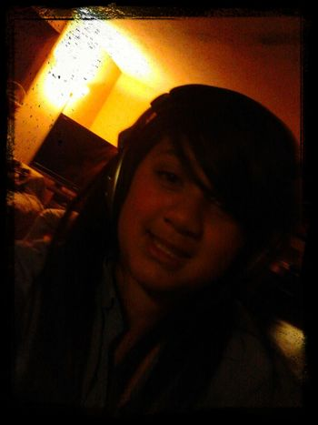 listening to cool music! xD haha