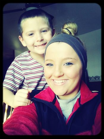 Me and my baby boy(:
