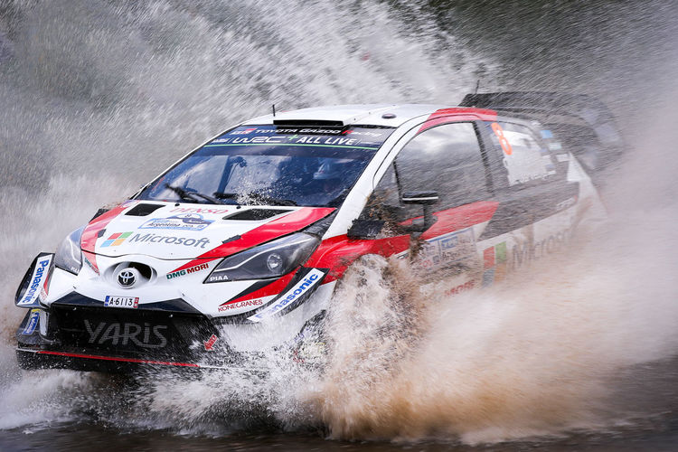 Motion Mode Of Transportation Transportation Speed Day Water Splashing Car Smoke - Physical Structure Motor Vehicle Outdoors Nature People Land Vehicle Power Communication Blurred Motion Competition Power In Nature Rally Rallycar Toyota Wrc Wrc Championchip Argentina