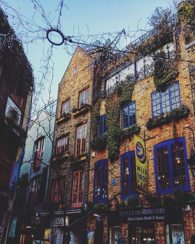 London Covent Garden  Neal's Yard Colorful