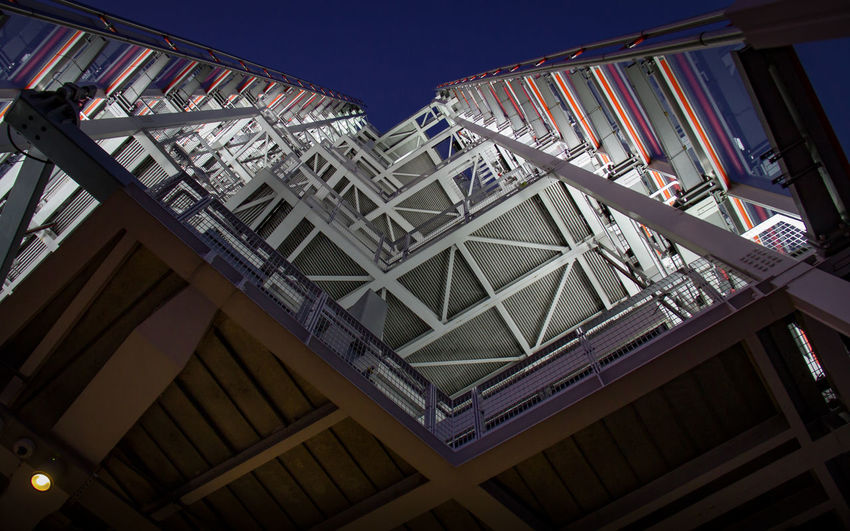 Looking up at the illuminated top decks of The Shard in London city centre... by The Thames. Over 300m tall. nice. Landmarks London The Shard By Night The Shard, London Tourist Tourist Attraction  Architecture Attraction Built Structure Day Girder Illuminated Illuminated Buildings Landmark Low Angle View Metal Structure Metalwork No People Skyscraper Tall Tall - High Tallest Building The Shard Tourism Destination Tourist Destination