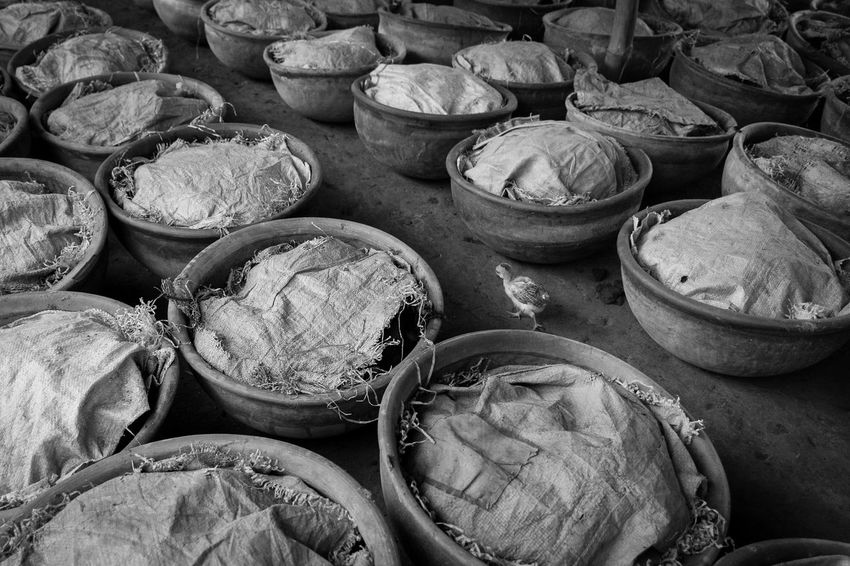 I captured this photograph of a vermicompost farm at the Shrirampur Village, near Sadullapur Upazila, which is approximately about 35 minutes from Gaibandha District, Bangladesh. Bangladesh Black And White Photography Blackandwhite Farm Fertilizer Large Group Of Objects No People Rhsumon Vermicompost