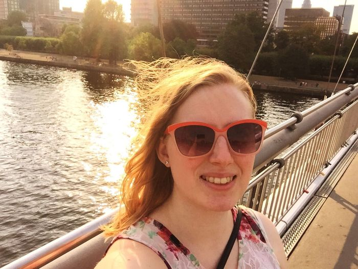 Städelbrücke Frankfurt Am Main Enjoying The Sun Enjoying Life Cheese! Family❤ That's Me