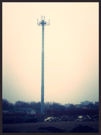 Cellphone Tower Photography