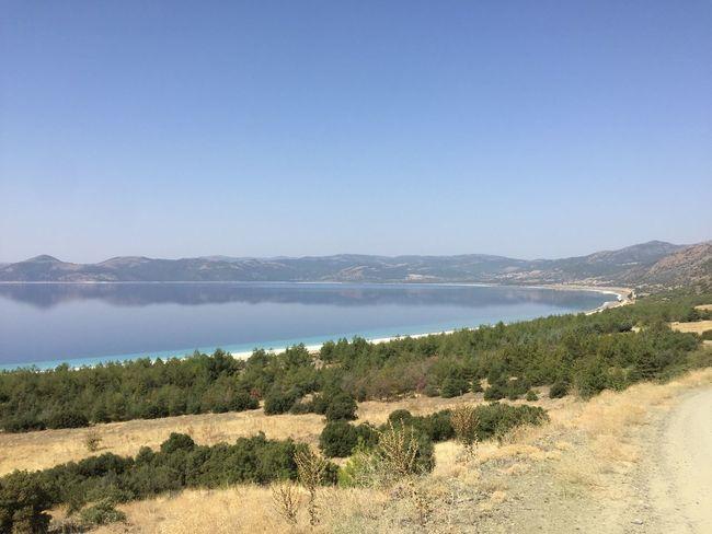 Salda Lake Turkey Lake Mountain Nature