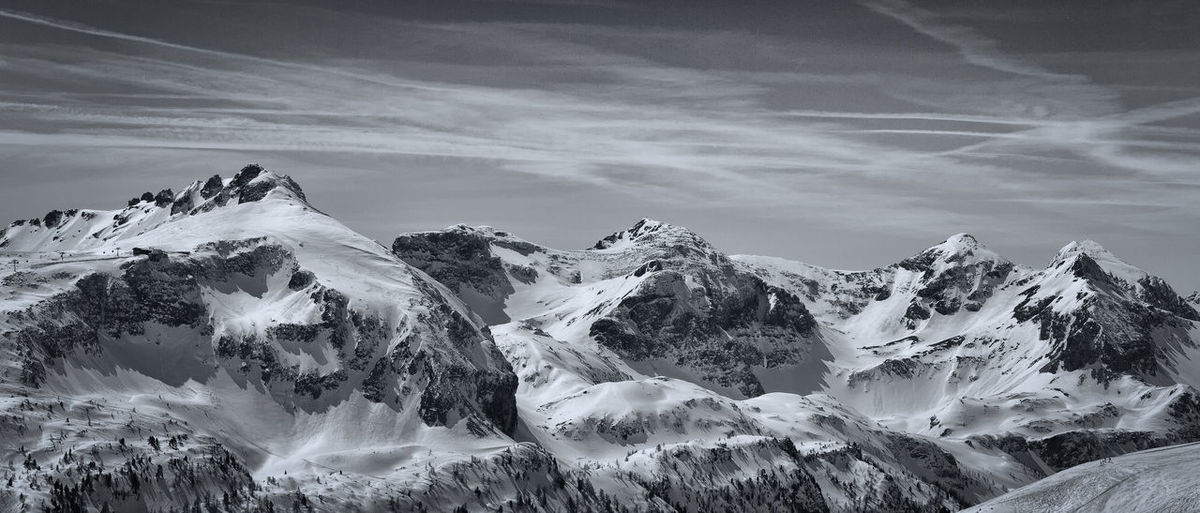 Alps Black & White Landscape Massive Mountain Ski Snow Textured  White Winter EyeEmNewHere