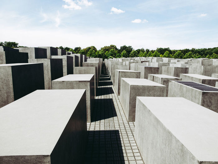 Denkmal für die ermordeten Juden Europas (Memorial to the Murdered Jews of Europe) in Berlin Berlin Denkmal Denkmal Für Die Ermordeten Juden Europas Deutschland Memorial Architecture Germany Memorial For Murdered Jews Of Europe Monument