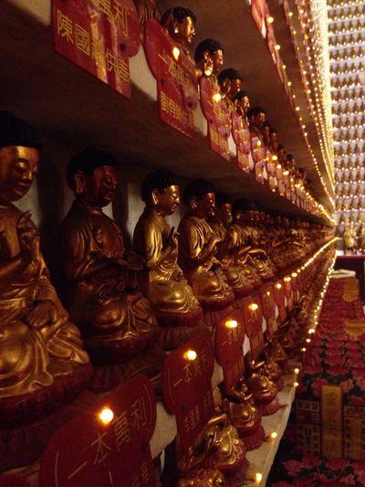 First Eyeem Photo HongKong Tourist Destination Tourist Attraction  Ten Thousand Buddha Monaster Outdoors Buddhism Buddhist Temple