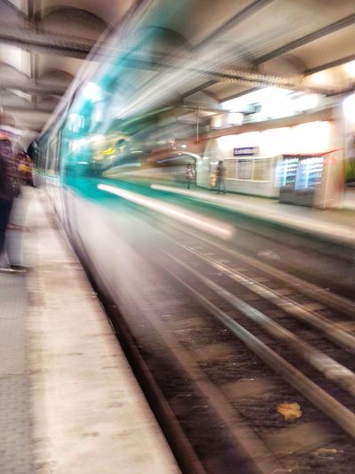 Subway Train Notes From The Underground Paris