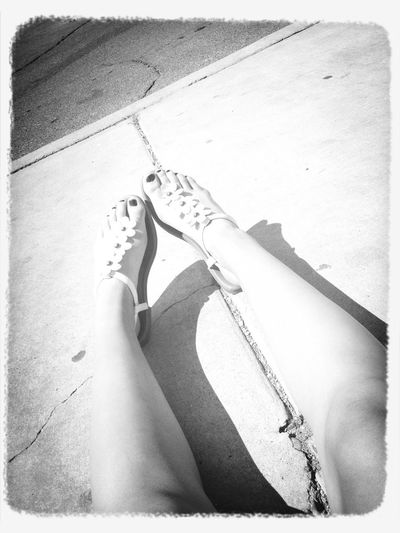 My feet !! Chilling With My Feet Up