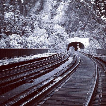 Tunnel Harpersferry Westvirginia