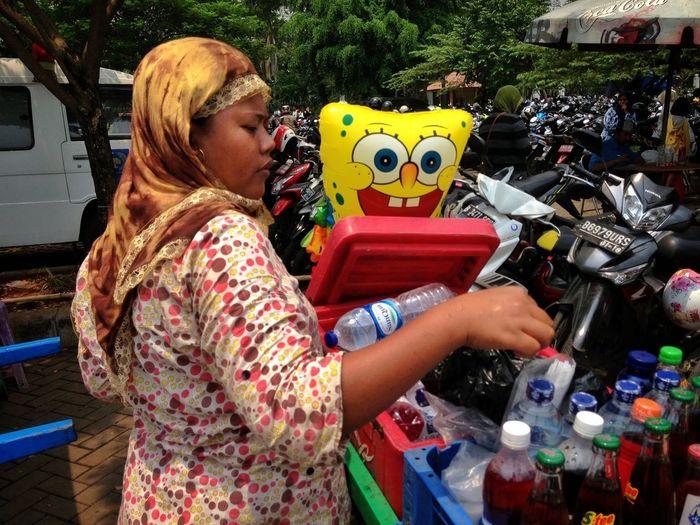 Thirsty Sponge