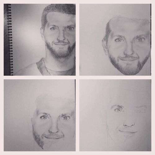 my Bradley Cooper Drawing
