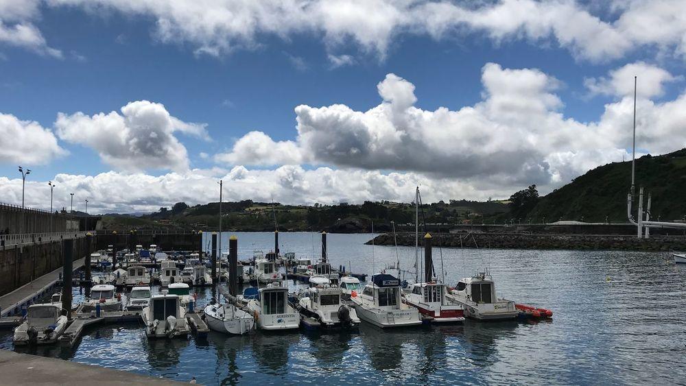 Asturias Sea Cloud - Sky Water Sky Transportation Nautical Vessel Mode Of Transportation Day Sailboat Yacht Outdoors Waterfront