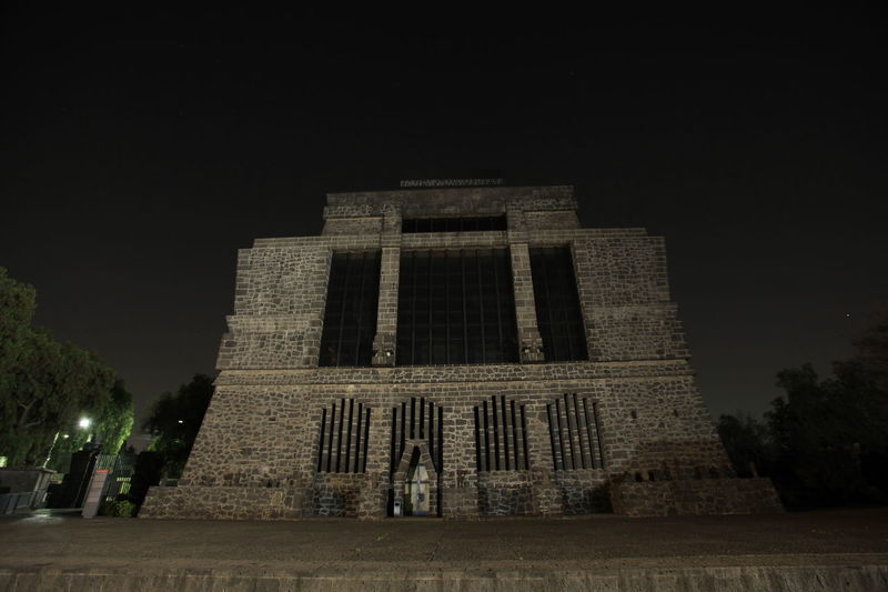Anahuacalli Architecture Latin Latin America Museum No People Time Timelapseshot