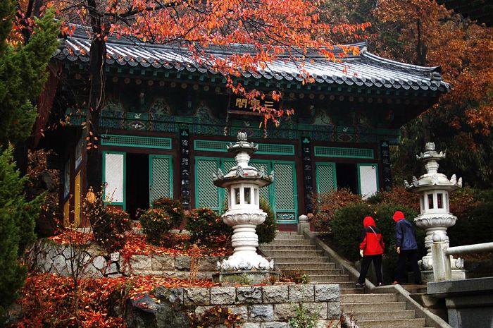 Bomunsa Korean Temple Relaxing Hi! Hello World Taking Photos Nikon D50