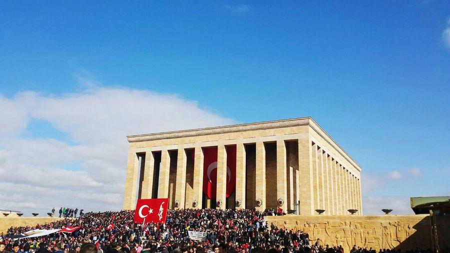10 Kasım 😔🙏 Anıtkabir 2015  First Eyeem Photo Türkiye ATATÜRK ❤