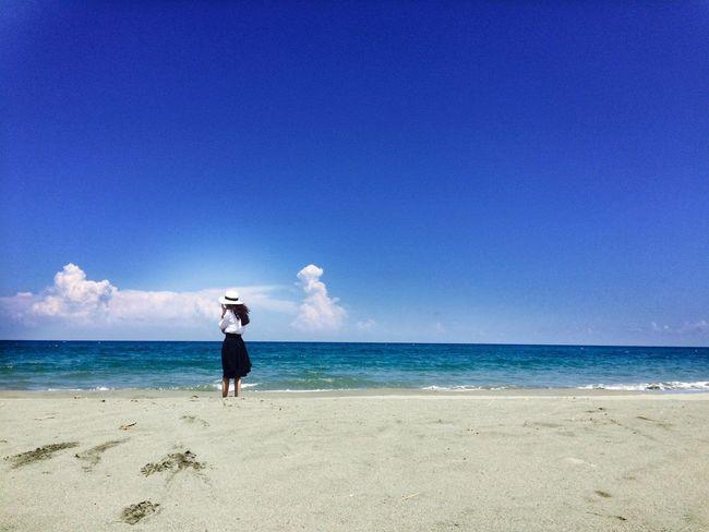背影的海 Resting Beautiful Surroundings Hello World Beautiful Surroundings