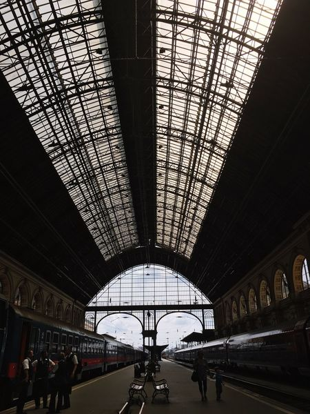 The Architect - 2016 EyeEm Awards Railway Railway Station Railwaystation Keleti Railway Station Budapest Keleti Pályaudvar Architecture Building Building Interior BuildingPorn Art Is Everywhere Let's Go. Together. The Traveler - 2018 EyeEm Awards The Architect - 2018 EyeEm Awards