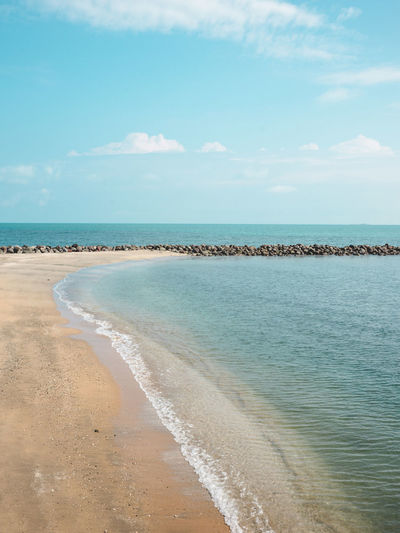 Beach Beach Life Beauty In Nature Blue Cloud Cloud - Sky Coastline Day Horizon Over Water Idyllic Mexico Nature Outdoors Sand Scenics Sea Shore Sky Tourism Tranquil Scene Tranquility Vacations Veracruz Water Wave