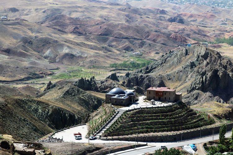 Turkey Dogubayazit Turkey Ishak Pasha Palace Architecture Beauty In Nature Landscape Mountain Mountain Range No People Outdoors Patchwork Landscape Travel Destinations