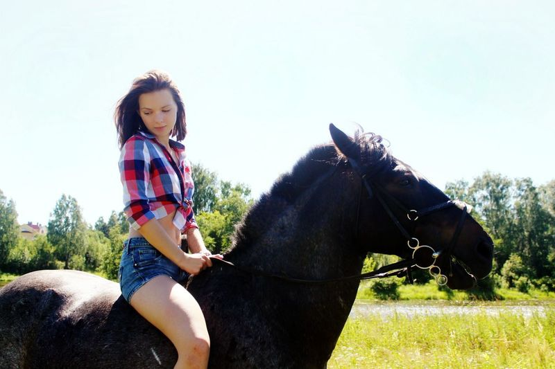 Спасибо За эту чудесную прогулке Восторгу и Хитрине❤ Horse Walk Ivanovo Russia