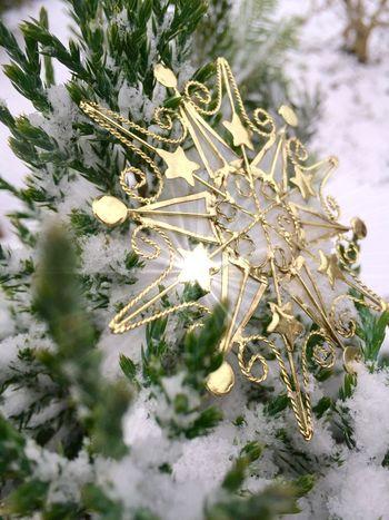 Snow Winter Christmas Stars