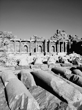 Black And White Friday Side Antalya Ancient History Archaeology Ancient Civilization Antik Kent Ancient City Rock - Object