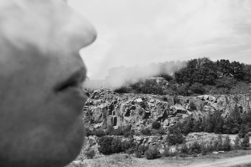 Fun Raw Smoke Travel Vacations Beauty In Nature Cliff Day Geology Nature No People Outdoors Relax Rock - Object Rock Formation Tree Breathing Space