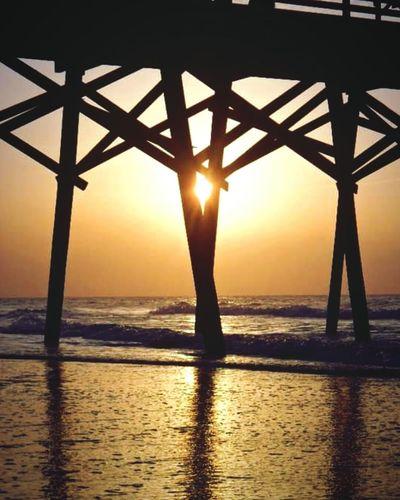 Beachphotography Sunrise Peekaboo Beach Early Morning Perfecttiming Localbeachlife