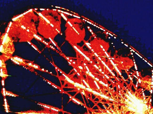 Ferris Wheel Sky High Skyhigh Saturation