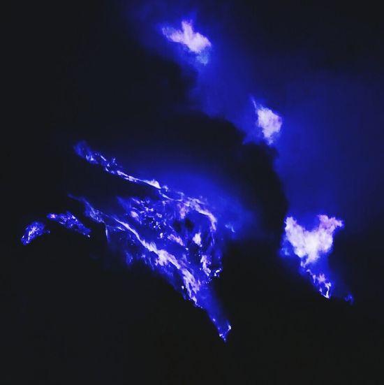 Bluefire Mountijen Banyuwangi Eastjava Sony A6000 F50mm1.8 Purple Blue Lightning Power In Nature