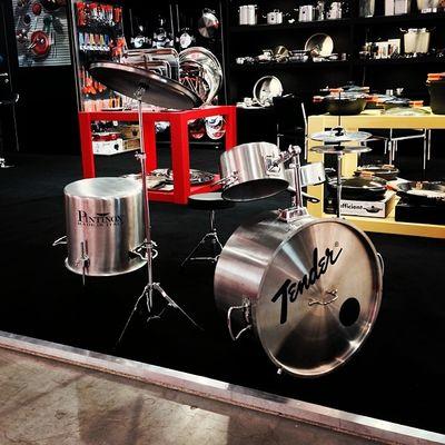 Drums Made in Italy by #Pintinox. Herrlich. #INTERGASTRA Schlagzeug Intergastra Gelatissimo Music Pintinox Drums Musik Stuttgart Show Pot Messe Tender Pan Messestuttgart Topf Tradefair