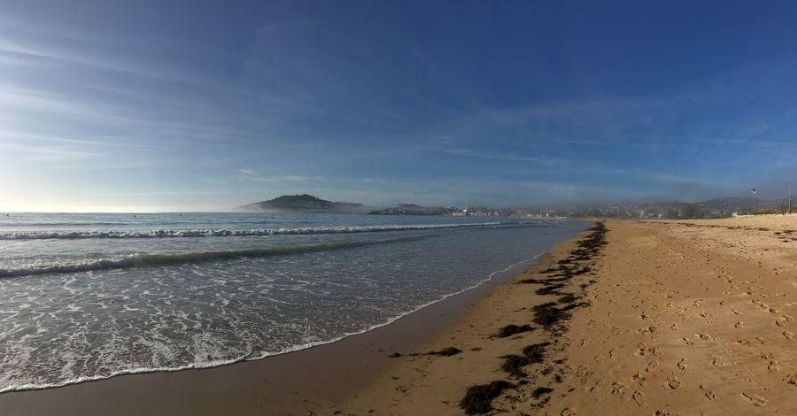 Beach Sand Sea Scenics Beauty In Nature Nature Shore